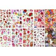 "Комплект наклеек ""Цветы"" - NN-MIX-03 (микс из 25 шт.)"
