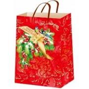 """Пакет ламінований новорічний (24х37,5х10 см) - ТОВ """"ТБВ """"Едельвейс""""  П1-228-НР"""