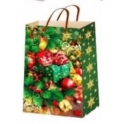 """Пакет ламінований новорічний (24х37,5х10 см) - ТОВ """"ТБВ """"Едельвейс""""  П1-229-НР"""