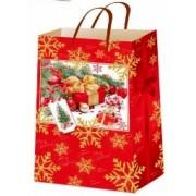 """Пакет ламінований новорічний (24х37,5х10 см) - ТОВ """"ТБВ """"Едельвейс""""  П1-232-НР"""