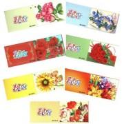 Мини-открытка в букет - HAPPY HOLIDAY БК-MIX-01 (10 шт.)