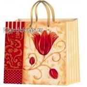 Пакет ламинированный (16х16х6 см) - Эдельвейс  П3-061