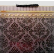 Пакет подарочный (матовый, фольга, фрагментарный лак, 22,5х23х10 см) - ПКС-11TF-04-252