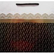 Пакет подарочный (матовый, фольга, фрагментарный лак, 22,5х23х10 см) - ПКС-11TF-04-254