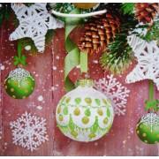 Пакет ламинированный новогодний (24х24х10 см) - Эдельвейс П2-108