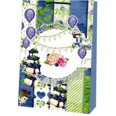 Пакет картонный матовый - Радіка Лкф В4-13 (35х25х8,5 см)