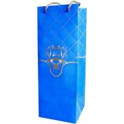 Пакет подарочный (мелованный картон 220 г/м2, 11,6х11,6х32 см) - Радіка РКД-4-02