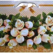 Пакет подарочный (16х16х7,6 см) ПКМ-11-12-1377