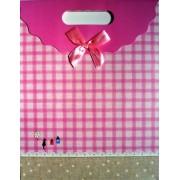 Пакет картонный с прорезной ручкой на липучке (31,8х25хх12,8 см) - Мандарин ASM13-073-L