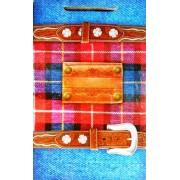 Пакет подарочный ламинированный (26х16х7 см) - Этюд ПКм-020