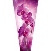 """Пакет ламинированный цветочный """"Орхидея"""" - POR-1432"""
