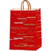 """Пакет ламінований новорічний (24х37,5х10 см) - ТОВ """"ТБВ """"Едельвейс""""  П1-105-НР"""
