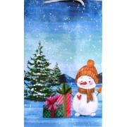 """Пакет ламінований новорічний """"В"""" - ТОВ """"Листівка.ЮА."""" ПАК-0720"""