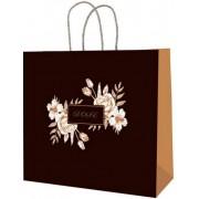 Пакет подарунковий (білий крафт) - Радіка РК-В4-17 (30х27,5х12 см)