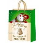 """Пакет ламінований новорічний (24х37,5х10 см) - ТОВ """"ТБВ """"Едельвейс""""  П1-100-НР"""