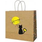 Пакет подарунковий (крафт 120 г/м2) - Радіка РК-С4-22 (23х23х10 см)
