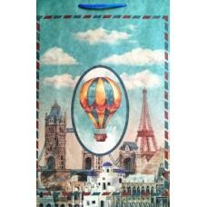 """Пакет подарунковий """"РО"""" крафт - РО-210202"""