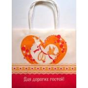 Пакет весільний - Родіка Пкф-07 (20х17,8х10 см)