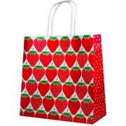Пакет подарунковий (білий крафт) - Радіка РК-С4-03 (23х23х10 см)