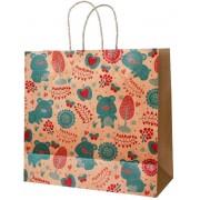 Пакет подарунковий (крафт 120 г/м2) - Радіка РК-С4-10 (23х23х10 см)