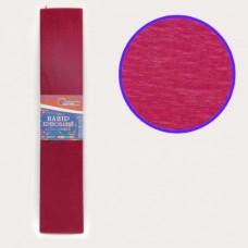 Папір кольоровий крепований, 35%, 20г/м2 , 50*200см, JOSEF OTTEN, KR35-8002 (БОРДО)