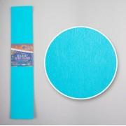 Папір кольоровий крепований, 35%, 20г/м2 , 50*200см, JOSEF OTTEN, KR35-8008 (БЛАКИТНИЙ)