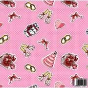 "Упаковочная бумага ""Свадьба"" (980*670) BLU-022 (5 шт.)"