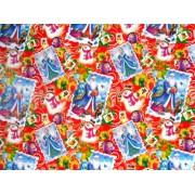 "Упаковочная бумага (100х70 см) Эд-УБ-82 ""Новогодняя"" 5 шт."