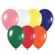 """Воздушный шар пастель 12""""/30см (ассорти 10 шт.) №11"""