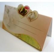 Банкетка (рассадочная карточка) свадебная ЭД-Б-11