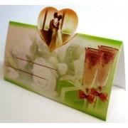Банкетка (рассадочная карточка) свадебная ЭД-Б-13