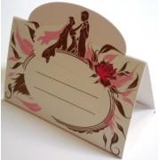 Банкетка (рассадочная карточка) свадебная ПК-02