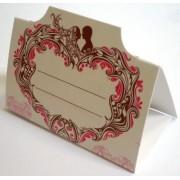 Банкетка (рассадочная карточка) свадебная ПК-03