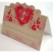 Банкетка (рассадочная карточка) свадебная ПК-04