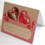 Банкетка (рассадочная карточка) свадебная ПК-05