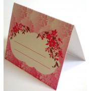 Банкетка (рассадочная карточка) свадебная ПК-06