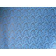 "Упаковочная бумага (100х70 см) Эд-УБ-127 ""Голубой узор"" 5 шт."