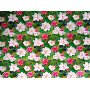 """Упаковочная бумага (100х70 см) Эд-УБ-057 """"Перо, цветы"""" 5 шт."""