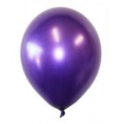 """Воздушный шар металлик 12""""/30 см (10 шт.) №7-фиолетовый"""