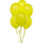 """Воздушный шар металлик 12""""/30 см (10 шт.) №7-желтый"""