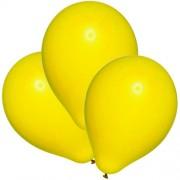 """Воздушный шар металлик 16""""/40 см (10 шт.) №5-желтый"""