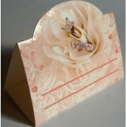 Банкетка (рассадочная карточка) свадебная - Открытка.ЮА. БК-0018/248