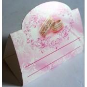Банкетка (рассадочная карточка) свадебная - Открытка.ЮА. БК-0023/220