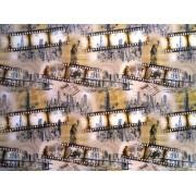 "Упаковочная бумага (100х70 см) Эд-УБ-195 ""Кино"" 5 шт."