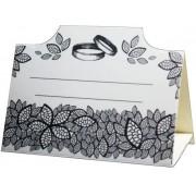 Банкетка (рассадочная карточка) свадебная ПК-08