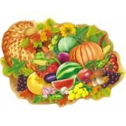 """Плакат фигурный """"Овощи, фрукты, ягоды"""" - Открытка.ЮА. ПЛ-0100/310"""