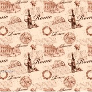 """Упаковочная бумага  крафт темный (100х70 см) Эд-УБ-396-КРТ """"Рим"""" 5 шт."""