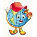 """Плакат-вирубка великий """"Глобус"""" - Этюд ФБ-41"""
