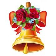 """Плакат фигурный """"Колокольчик с розами"""" - Этюд ФБ-17"""