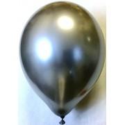 Воздушный шар хром 45 см серебряный (1 шт.)